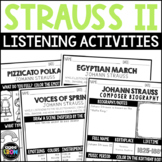 Johann Strauss II Composer Listening Activities, October