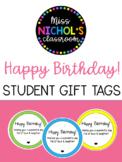 Back to School Gift - Happy Birthday! EDITABLE