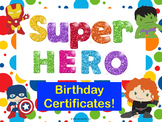 Happy Birthday Super Hero!