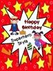 Happy Birthday, Superhero Style!  (Everything You Need for Classroom Birthdays)