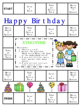 Happy Birthday Synonyms