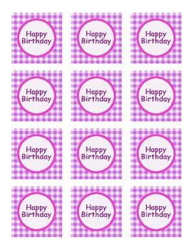 Happy Birthday Tag-girl