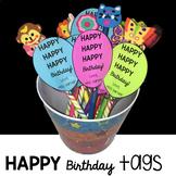 Happy Birthday Tags!