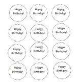 Happy Birthday Tags