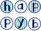 Happy Birthday! Teal & Navy