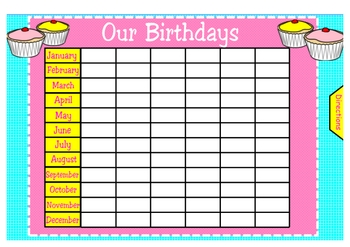 Happy Birthday To You Notebook Activity