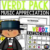 Happy Birthday Verdi!  October - Music Handwriting, Listen
