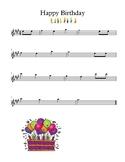Happy Birthday Violin