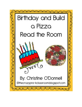 Happy Birthday and Pizza Read the Room