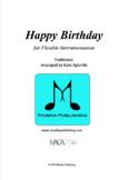 Happy Birthday - for Flexible Instrumentation