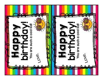Happy Birthday to You: A Free Birthday Book