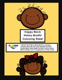 Happy Black History Month Lesson Plan and Colouring Sheets
