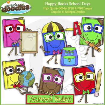 Happy Books School Days