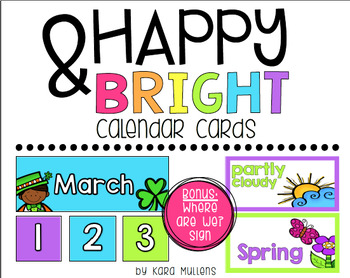 Happy & Bright Classroom Decor Bundle!
