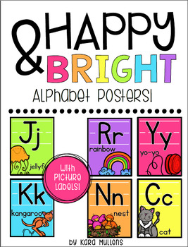 Happy & Bright Classroom Decor Bundle!