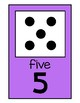 Happy & Bright Number Posters {Domino Dot Patterns}