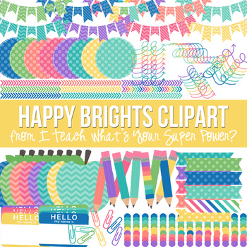 Happy Brights Clipart Pack