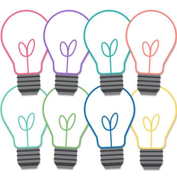 Happy Brights Lightbulbs Clipart