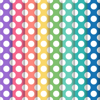 Happy Brights Polka Dot Paper Pack