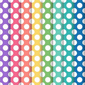 Happy Brights Polka Dot Paper Pack