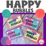 Happy Bubbles Happiness and Optimism Mindset Activity