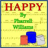 Happy - Bucket Drumming Arrangement