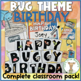 Bug Themed Birthday Kit