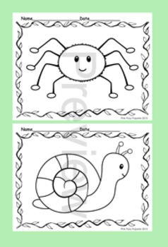 Happy Bugs Coloring Pages - 8 Designs