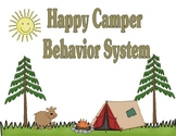 Happy Camper Behavior System: Perfect for Whole Class Classroom Management