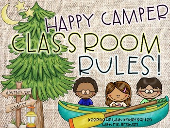 Happy Camper Classroom Rules