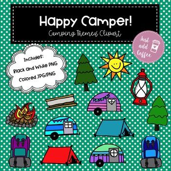 Happy Camper Clipart