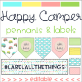 Happy Camper Decor Set