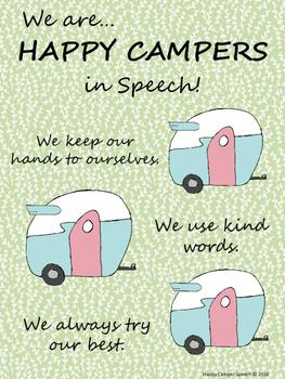 Happy Camper Freebie!