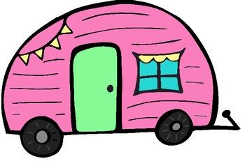 Happy Camper Freebie!! Clipart
