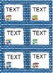 Editable Happy Camper Name Tags