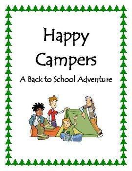Happy Campers Back to School Mini Unit