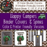 Binder Covers & Spines - Happy Campers Decor