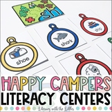 Happy Campers {Camping Themed Literacy Centers}