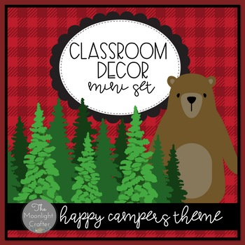 Happy Campers Classroom Decor Add-On Set