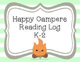 Happy Campers K-2 Reading Log