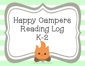 Happy Campers K-2 Reading Log