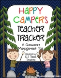 Happy Campers Teacher Tracker: A Camping Themed Classroom Management Tool