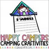 Camping Writing Craftivities and Bulletin Board Kit