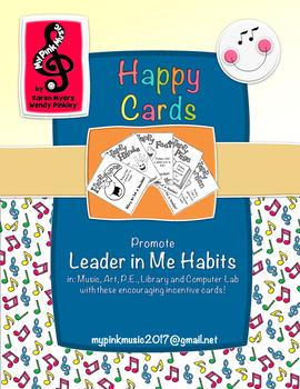 Promoting Leadership habits in Art, Library, Music, PE,  & Tech class