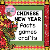 Chinese New Year for Speech Therapy {Games Crafts Lesson Plans}