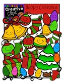 Happy Christmas Clipart {Creative Clips Clipart}