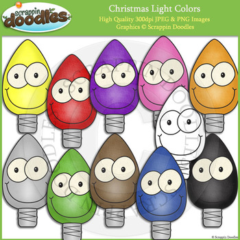 Happy Christmas Light Colors