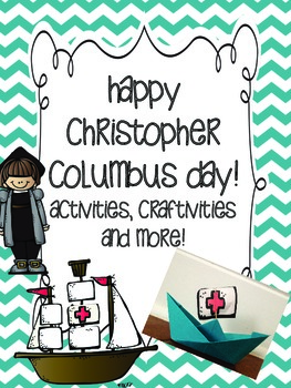 Happy Christopher Columbus Day! {Craftivity and activities!}
