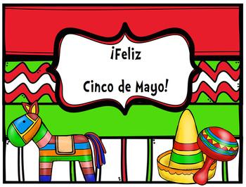 Happy Cinco de Mayo/ Feliz Cinco de Mayo Poster