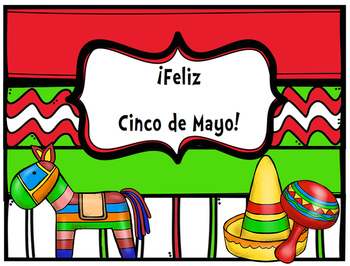 Happy Cinco de Mayo/ Feliz Cinco de Mayo Poster